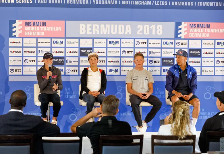 Minister Pre Triathlon Press Conference Bermuda April 2018 (2)