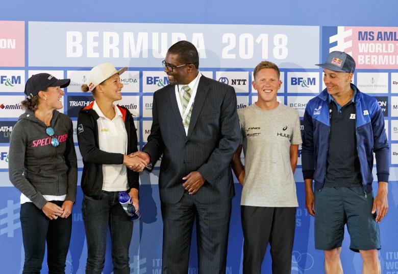 Minister Pre Triathlon Press Conference Bermuda April 2018 (4)