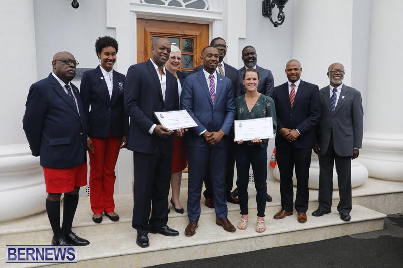 Motorcade celebrates champions Bermuda April 30 2018 (31)