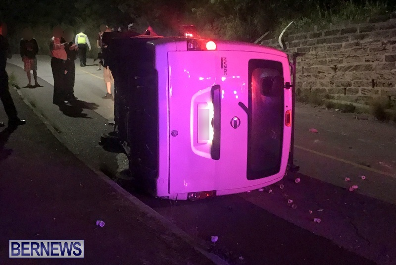 Overturned Van Bermuda, April 30 2018 (1)