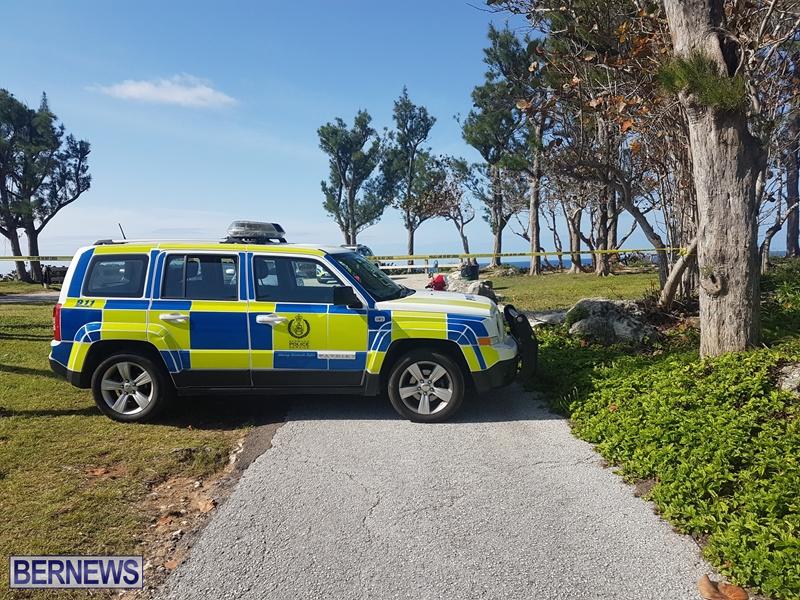 Police Car investigating 21 Apr
