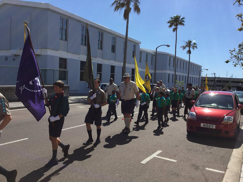 Scout Parade Bermuda April 2018 (1)