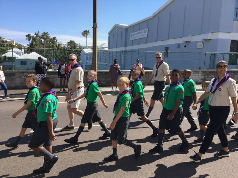 Scout Parade Bermuda April 2018 (2)