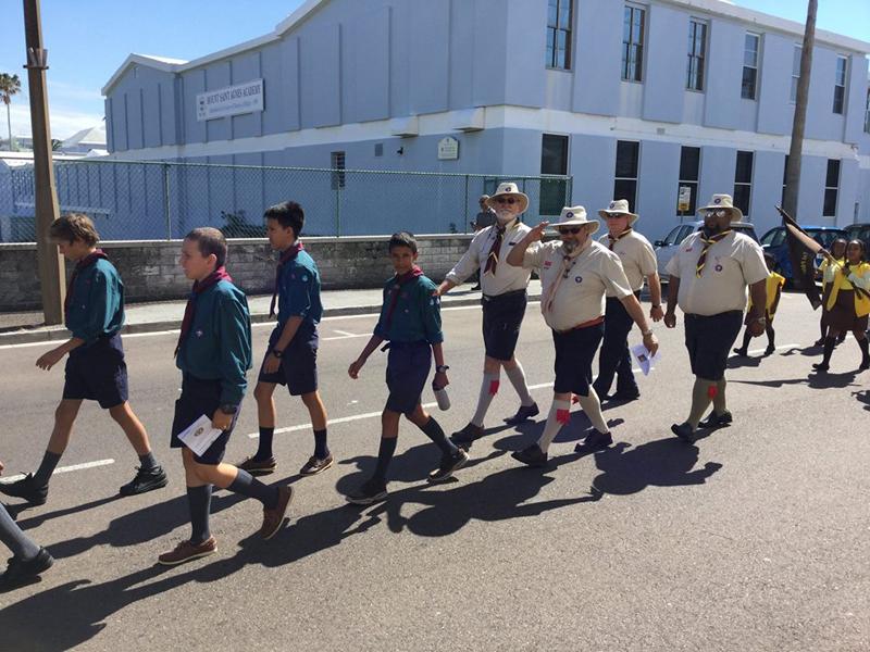 Scout Parade Bermuda April 2018 (3)