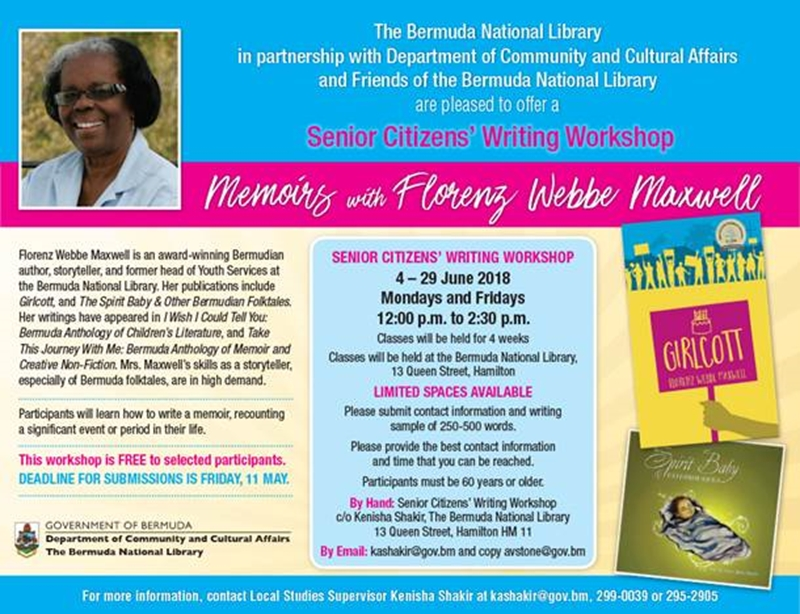 Senior Citizen's Writing Workshop