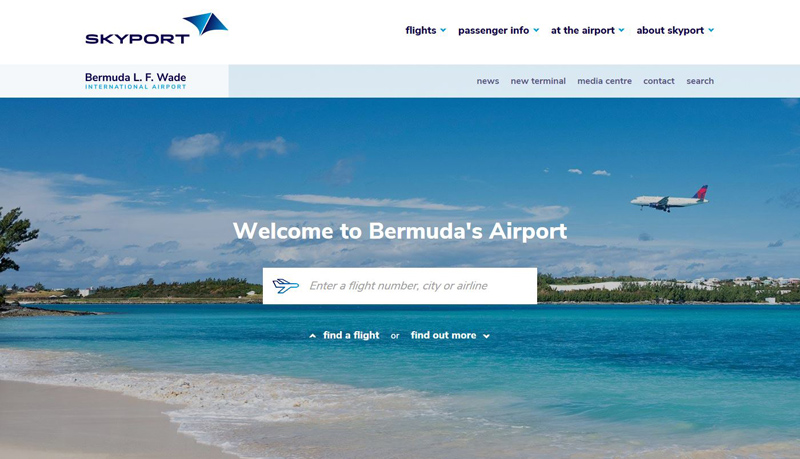 Skyport New Website Bermuda April 2018