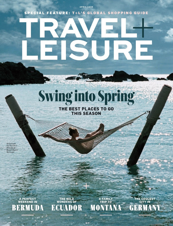 Travel Leisure Bermuda April 2018