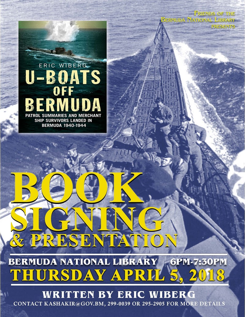 U Boats Book Presentation with Eric Wiberg 2 (002)