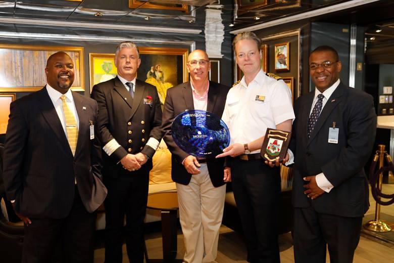 Zuiderdam Inaugural visit Bermuda April 26 2018 (6)