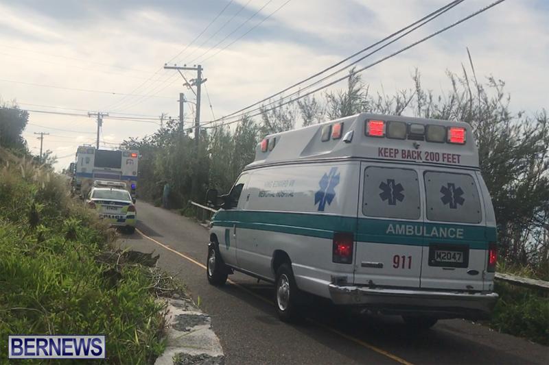 ambulance Bermuda April 16 2018