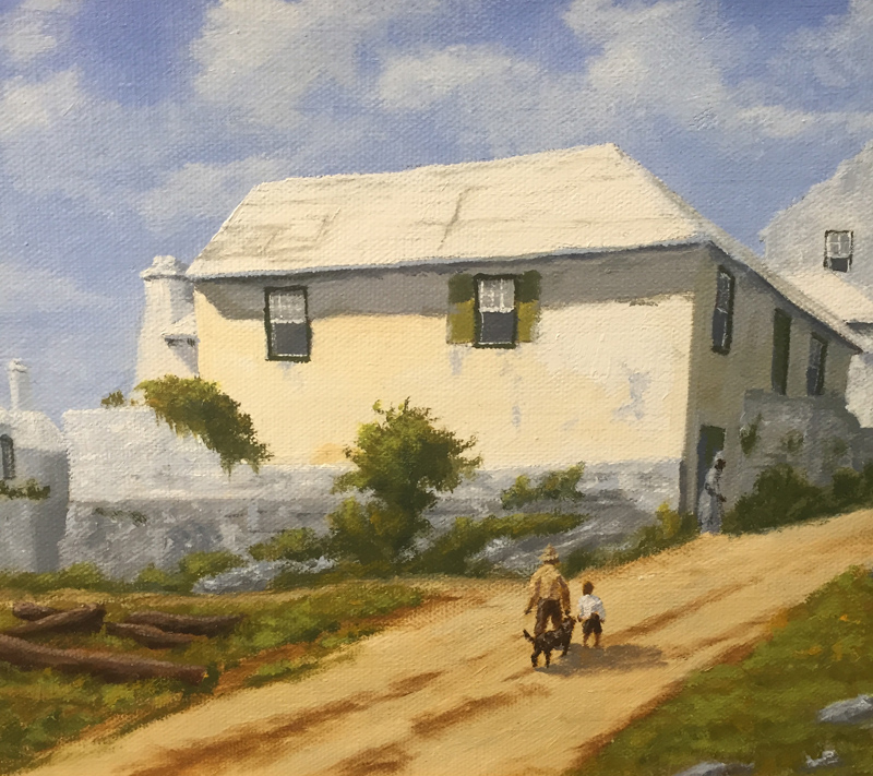 Aunt Peggy's House 1900