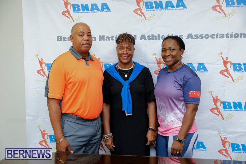Bermuda National Athletics Association BNAA President Donna Raynor Permit Meet, May 5 2018-0720-1