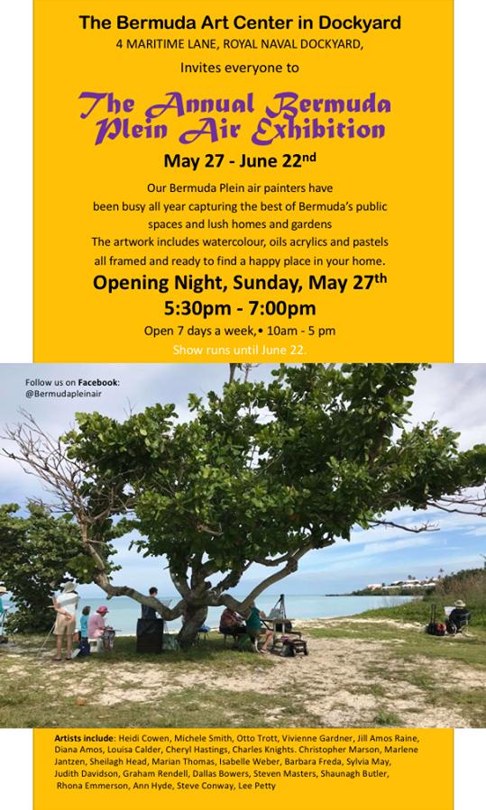 Bermuda Plein Air Exhibit May 2018