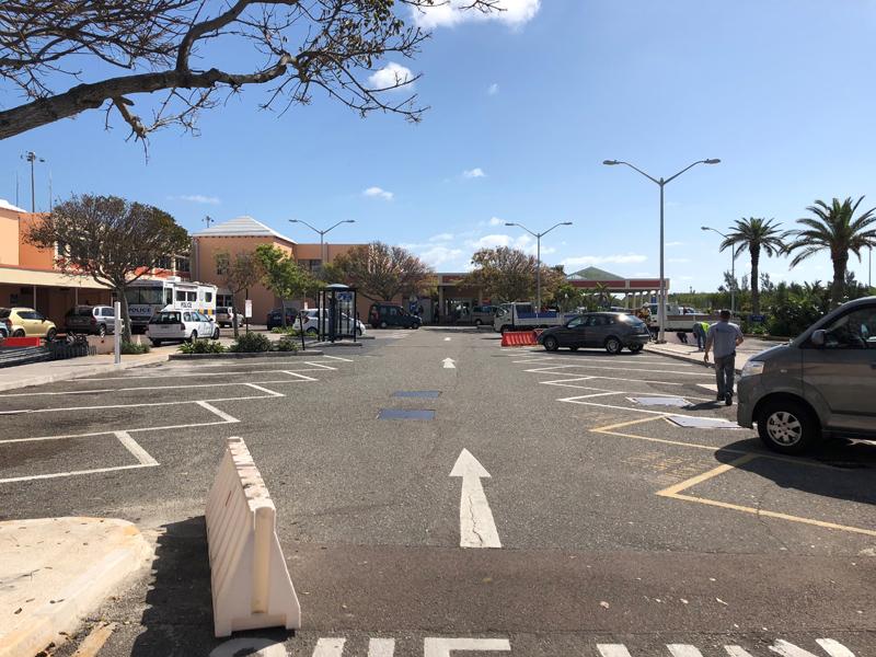 Car Park Closure Bermuda May 2018