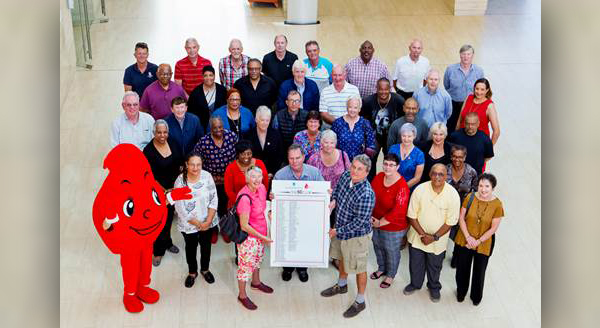 Celebrating Bermudas 50 Club Blood Donors May 2018