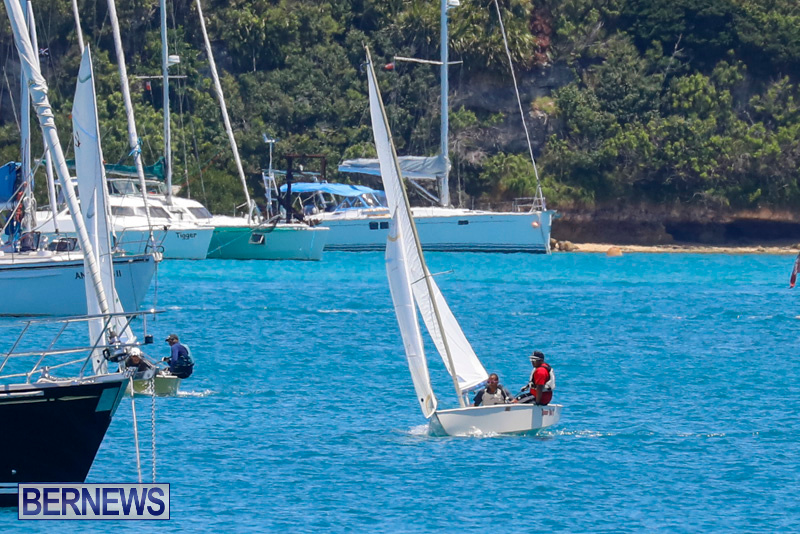 Comet Class Racing St George's Bermuda, May 27 2018-7148