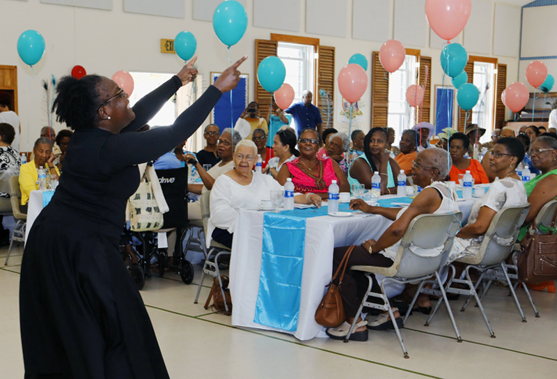 Corrections Week Seniors Tea Bermuda May 29 2018 (4)