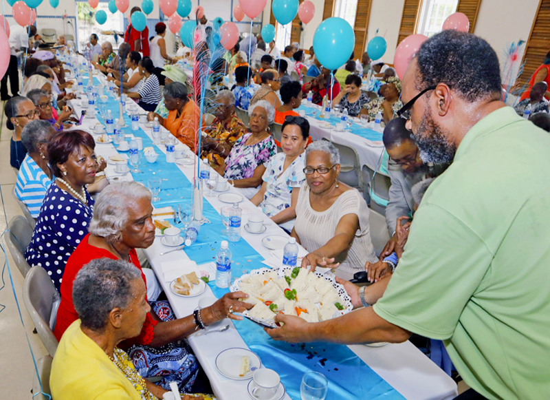 Corrections Week Seniors Tea Bermuda May 29 2018 (7)