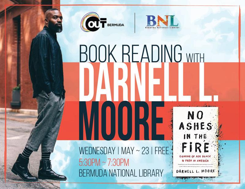 Darnell Moore Bermuda May 2018
