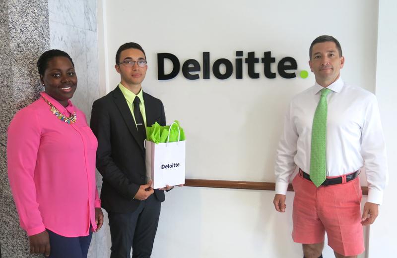 Deloitte Scholarship Bermuda May 2018