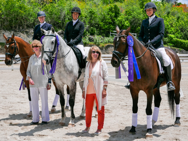 Dressage Competition Bermuda May 29 2018 Adult