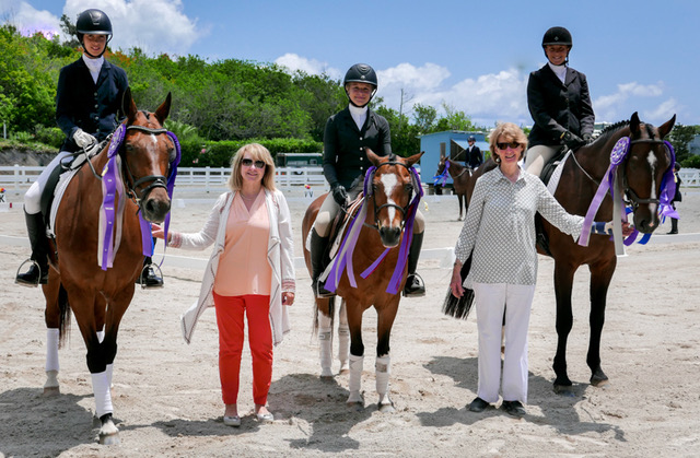Dressage Competition Bermuda May 29 2018 Children
