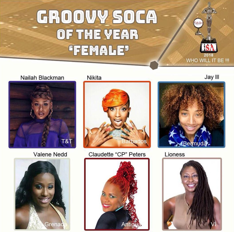 Groovy Soca of the Year May 2018