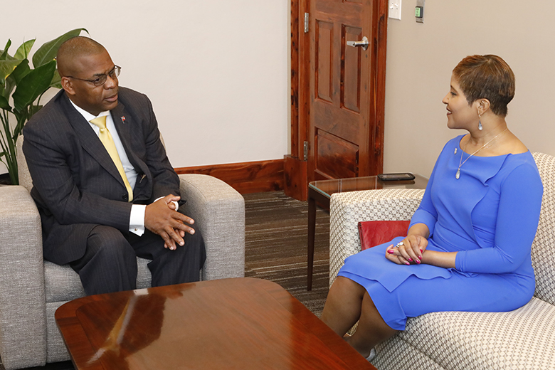 Jamaican Consul General & Minister Roban Bermuda May 14 2018 (1)