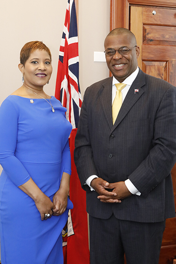 Jamaican Consul General & Minister Roban Bermuda May 14 2018 (2)