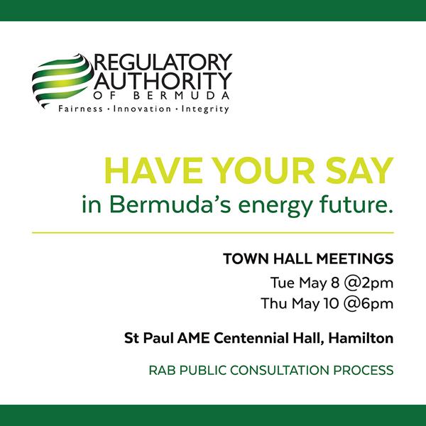 RAB TownHall Meeting Bermuda May 7 2018