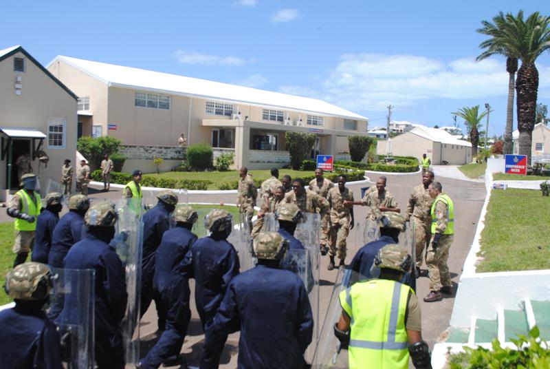Royal Bermuda Regiment May 2 2018 (2)