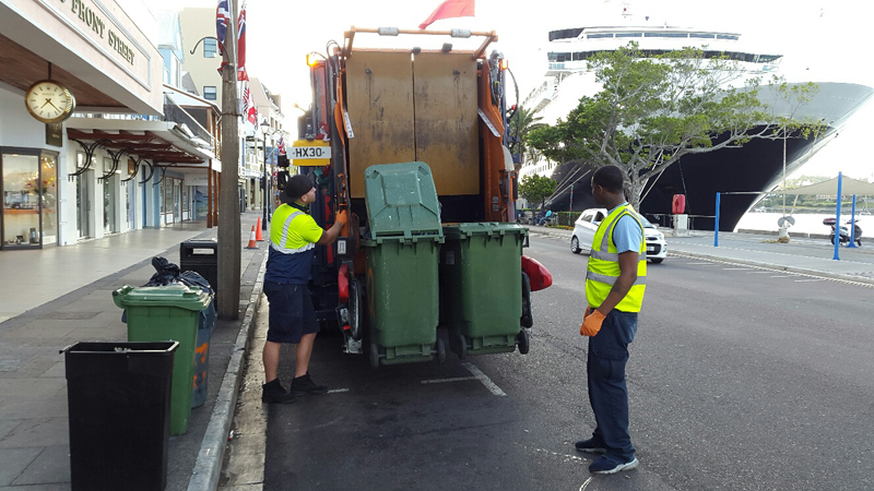 Truck Bermuda May 2018