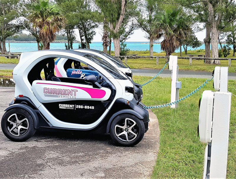 Twizy Bermuda May 2018