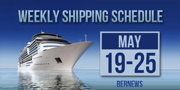 Weekly Shipping Schedule TC May 19 - 25 2018