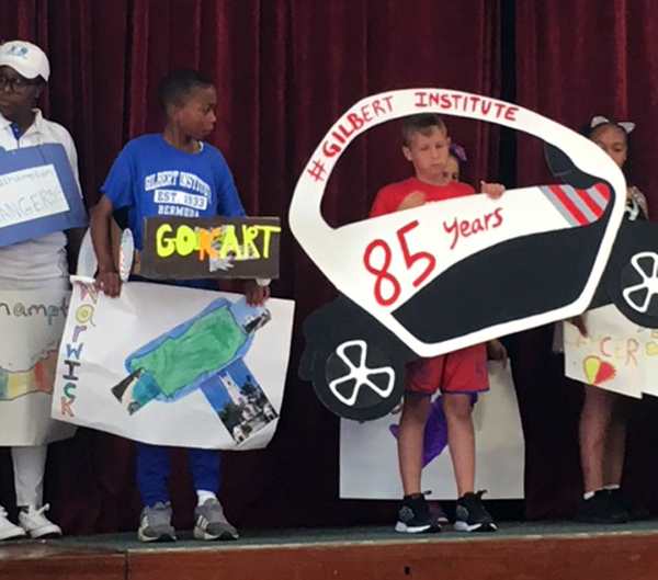 Word Parade At Gilbert Institute Primary School  Bermuda May 28 2018 (1)