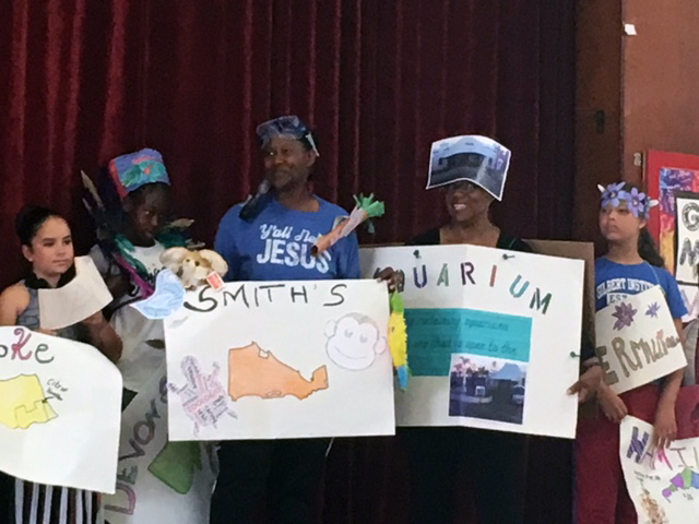 Word Parade At Gilbert Institute Primary School  Bermuda May 28 2018 (10)