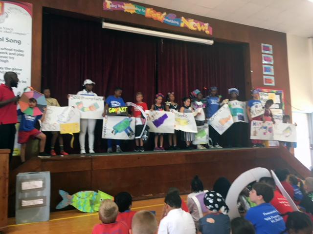 Word Parade At Gilbert Institute Primary School  Bermuda May 28 2018 (11)