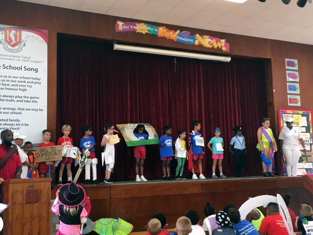 Word Parade At Gilbert Institute Primary School  Bermuda May 28 2018 (12)