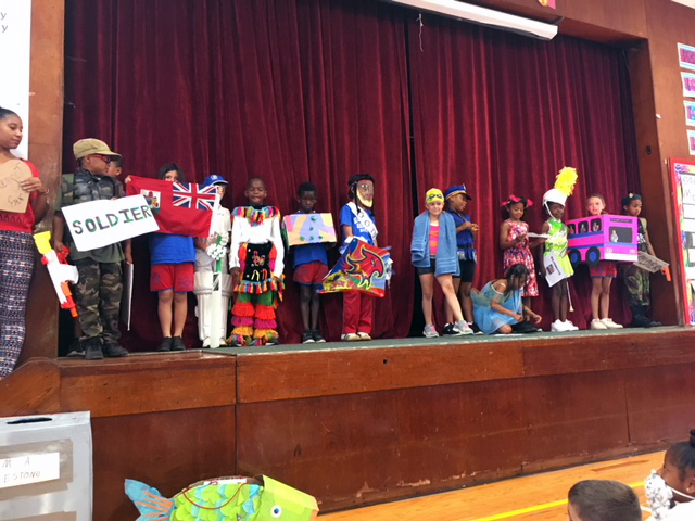 Word Parade At Gilbert Institute Primary School  Bermuda May 28 2018 (15)