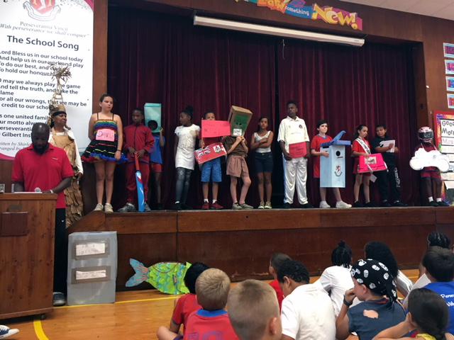 Word Parade At Gilbert Institute Primary School  Bermuda May 28 2018 (16)