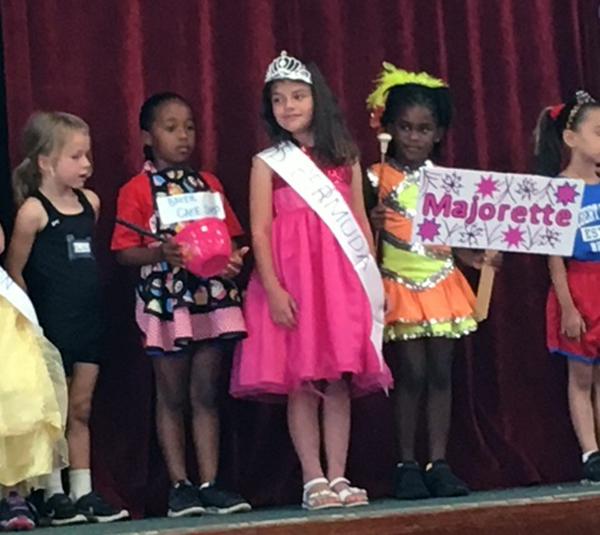 Word Parade At Gilbert Institute Primary School  Bermuda May 28 2018 (2)