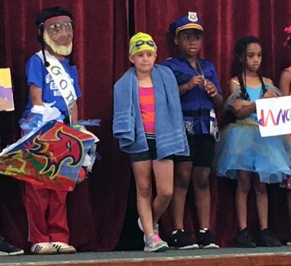 Word Parade At Gilbert Institute Primary School  Bermuda May 28 2018 (3)