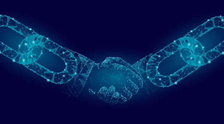 generic blockchain-crypto-handshake- tech erq23r23
