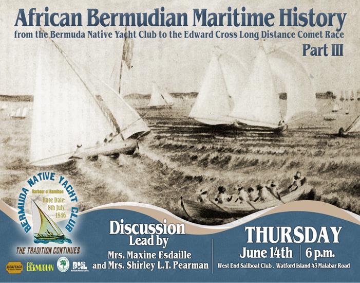 African Bermudian Maritime History Bermuda June 5 2018