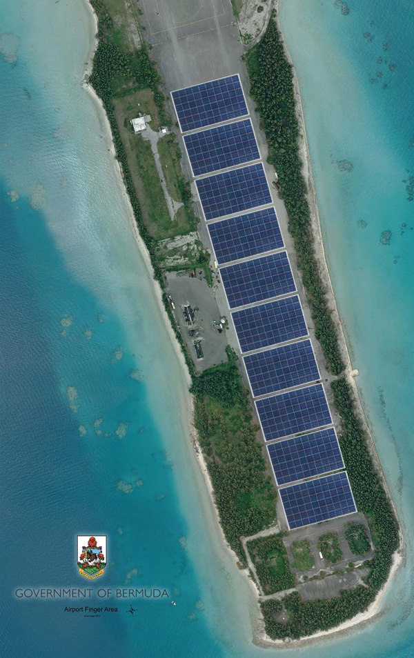 Airport Solar PV Project Aerial View Small 010618