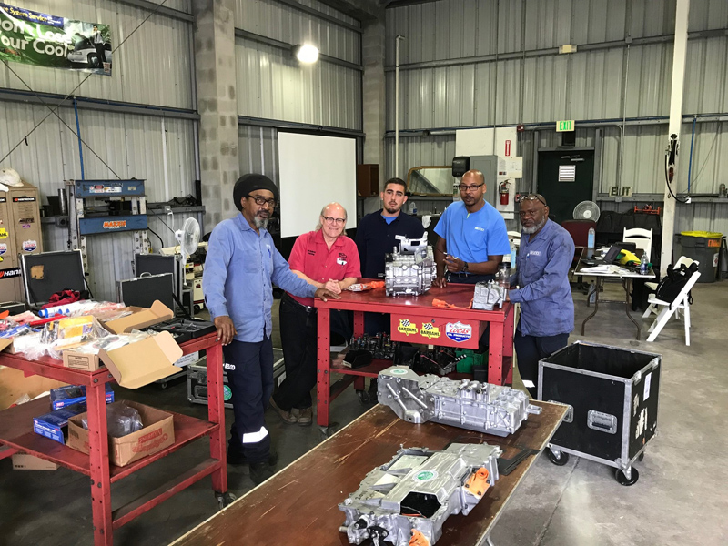 BELCO electric vehicle training Bermuda June 2018 (1)