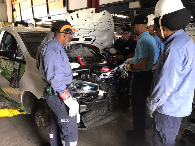BELCO electric vehicle training Bermuda June 2018 (2)