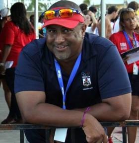 Bermuda National Coach Ben Smith June 2018