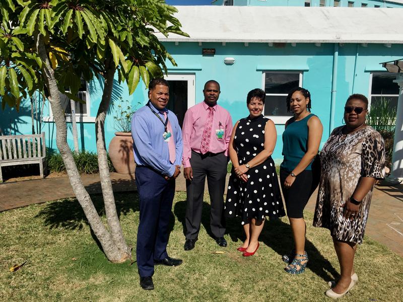CAS BHCT Therapeutic Garden Donation Bermuda June 2018