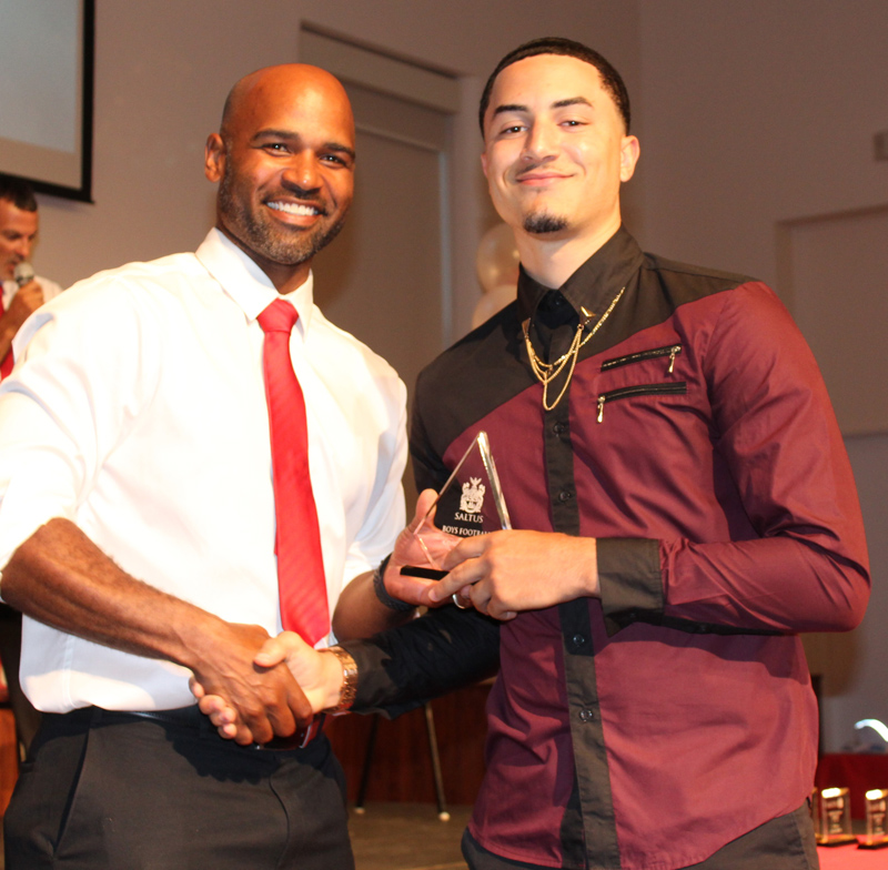 Coach's Award Football Neil Figureido Bermuda June 2018
